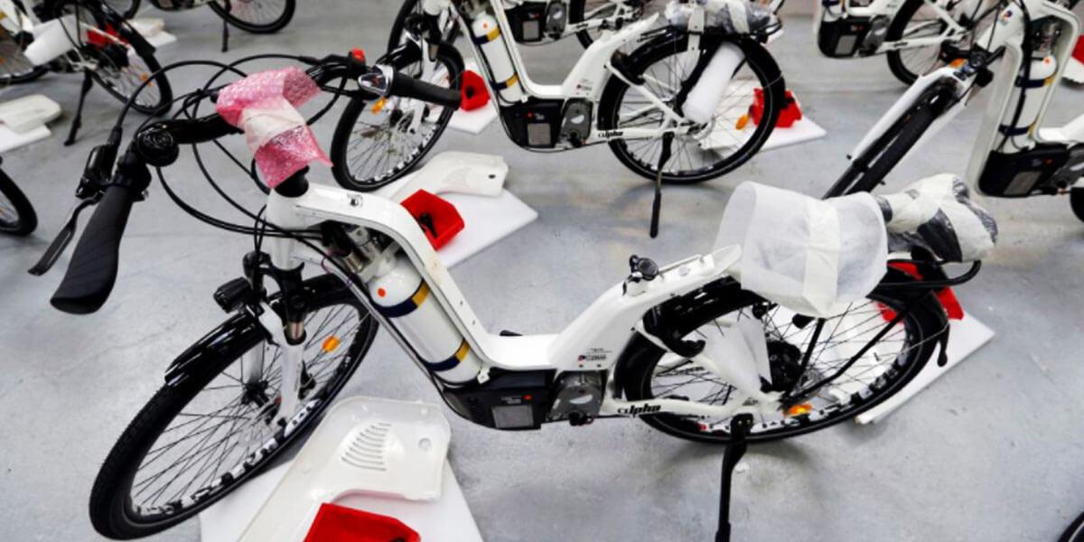 francuski bicikl na vodik