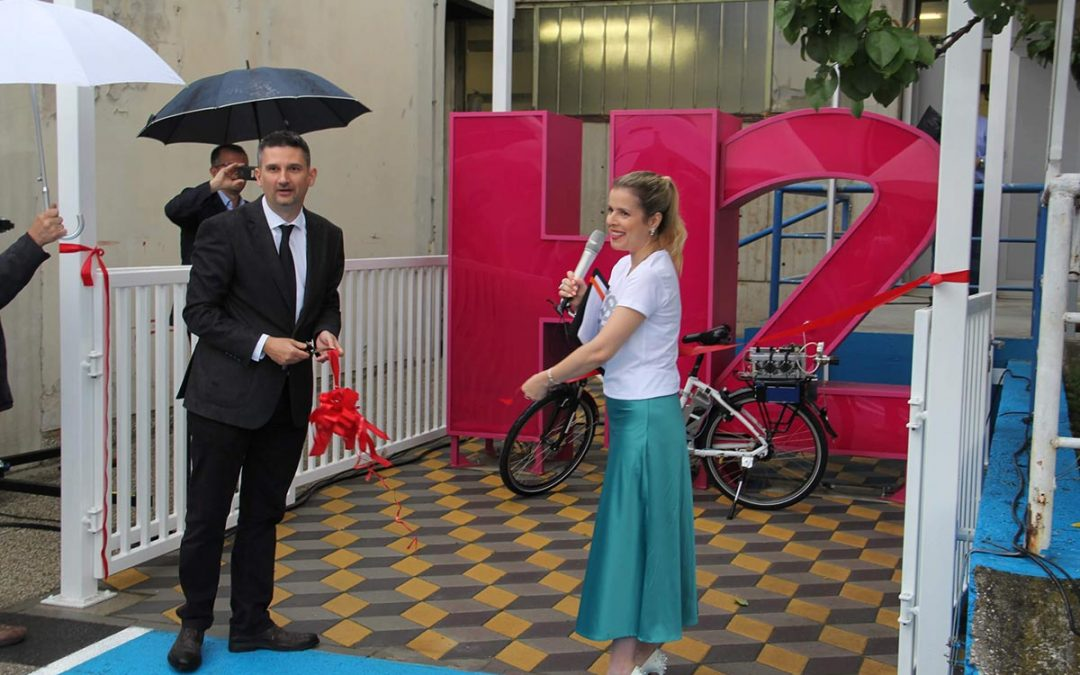 The first Croatian hydrogen refuelling station opened