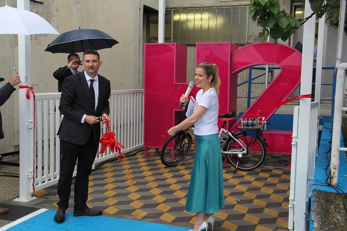 Otvorenje prve hrvatske punionica vodika